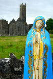 Abbey ruins, Quin, Ireland Royalty Free Stock Photo
