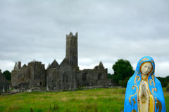 Abbey ruins, Quin, Ireland Royalty Free Stock Images