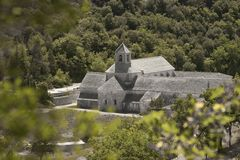 Abbey of Sénanque Royalty Free Stock Photo