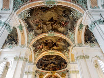 Abbey of Saint Gall, St. Gallen, Switzerland Royalty Free Stock Images