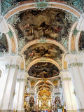Abbey of Saint Gall, St. Gallen, Switzerland Royalty Free Stock Image
