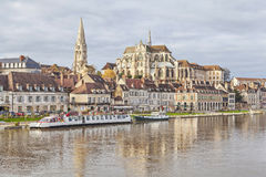 Abbey of Saint-Germain, Auxerre Royalty Free Stock Photos