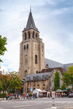 Abbey of Saint-Germain-des-Pres, Paris Stock Photography