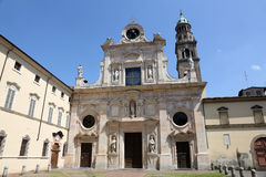 Abbey of Saint John the Evangelist. Parma Royalty Free Stock Images