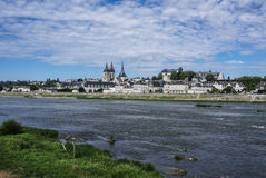 Abbey Saint-Laumer in Blois. Chateau des Loire Valley. Frankreich Stockfotos