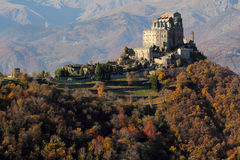 Abbey of Saint Michael in Italy Stock Image