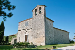 Abbey of saint nicolò Stock Photography