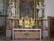 Abbey of Saint Peter in the Black Forest Stock Photo