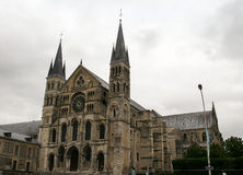 Abbey Saint-Remi Reims - Frankrike Royaltyfri Foto