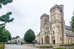 The Abbey of Saint-Trinity in Caen Royalty Free Stock Image