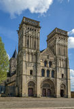 Abbey of Sainte-Trinite, Caen, France Stock Photos