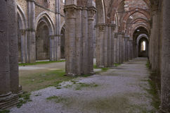 Abbey of San Galgano Royalty Free Stock Photos