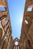 Abbey of San Galgano Royalty Free Stock Image