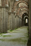 Abbey of San Galgano, detail Stock Image