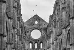 Abbey of San Galgano Royalty Free Stock Photography