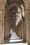 Abbey of San Galgano, Tuscany. Royalty Free Stock Photo