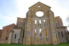 Abbey of San Galgano, Tuscany, Italy Stock Photos