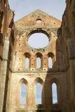 Abbey of San Galgano, Tuscany, Italy Royalty Free Stock Photos