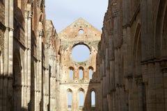 Abbey of San Galgano, Tuscany, Italy Stock Photography