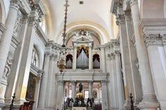 Abbey San Giorgio di Maggiore i Venedig Royaltyfria Bilder