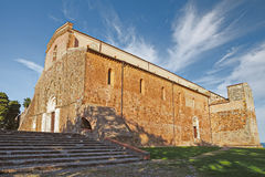 The Abbey of San Giovanni in Venere in Fossacesia, Abruzzo, Ital Royalty Free Stock Photography