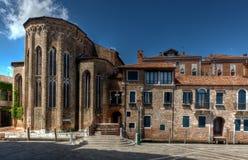 Abbey San Gregorio, Venecia, Italia Imágenes de archivo libres de regalías