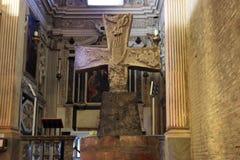 Abbey of San Mercuriale, Forli. Romanesque Holy cross in the San Mercuriale Abbey, Forli, Italy Royalty Free Stock Photo