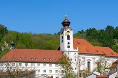 Abbey Sankt Walburg bénédictine dans Eichstaett photos stock