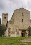 Abbey of Sant Antimo, Italy Stock Photography