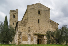 Abbey of Sant Antimo, Italy Stock Photo