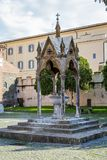 Abbey of Santa Maria in Grottaferrata, Italy Royalty Free Stock Photography