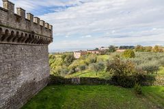 Abbey of Santa Maria in Grottaferrata, Italy Stock Photo