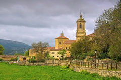 Abbey of Santo Domingo de Silos, in northern Spain Royalty Free Stock Images