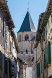 Abbey School real en Soreze, Francia Fotos de archivo libres de regalías