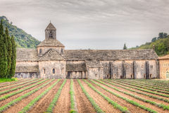 Abbey of Senanque, France Stock Images