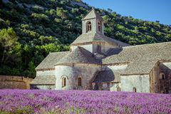 Abbey Senanque Provence France Arkivbild