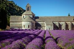 Abbey Senanque Provence France Fotografía de archivo
