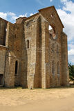 Abbey of St. Galgano, Tuscany Stock Photography