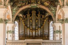 Abbey of St. Gall - The Roman Catholic Cathedral. UNESCO World H Royalty Free Stock Photo