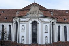 Abbey of St. Gallen on Switzerland royalty free stock photo