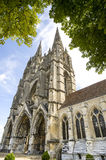 Abbey of St-Jean-des Vignes in Soissons Stock Photo