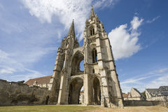 Abbey of St-Jean-des Vignes in Soissons Royalty Free Stock Photos