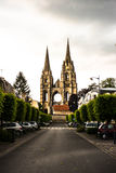 Abbey of St-Jean-des Vignes,Soissons, France royalty free stock photos