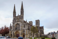 Abbey of St. Martin, Laon, France Royalty Free Stock Images