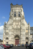 Abbey of St Riquier - The Somme - France Royalty Free Stock Photos