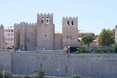 Abbey St Victor, en Marsella, Provence, Francia Fotos de archivo libres de regalías