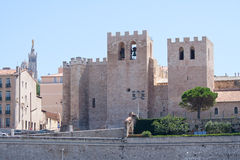 The Abbey St. Victor, in Marseille, Provence, France Stock Photography