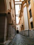Abbey Stift Monastery na Baixa Áustria do interior foto de stock