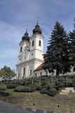abbey tihany hungary Royaltyfri Fotografi