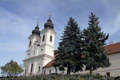 abbey tihany hungary Royaltyfri Bild